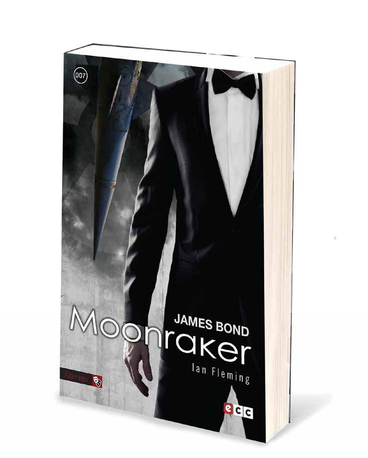 Nuevas ediciones de Fleming en español Moonraker
