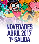 Novedades de abril 2017, primera salida