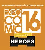 ECC Ediciones en Expocómic 2016