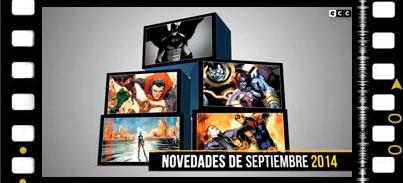Vídeo: Novedades de septiembre