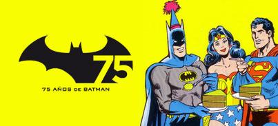75 aniversario de Batman: Hoy... ¡concurso en librerías especializadas!
