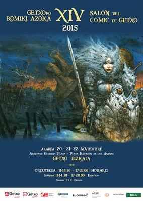 Promociones de ECC Ediciones en el XIV Salón del Cómic de Getxo