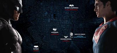 EL UNIVERSO DC COMICS LLEGA A MADRID