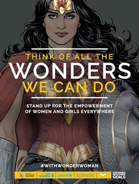 Wonder Woman, embajadora de honor de Naciones Unidas. ¡Sigue en directo la ceremonia!