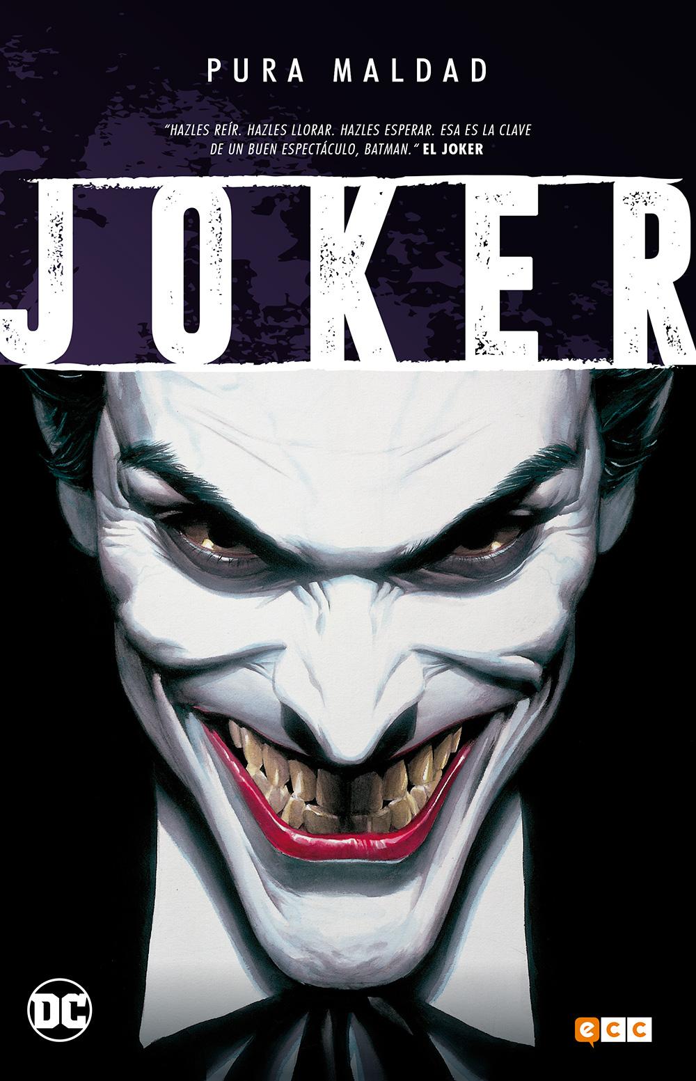 Pura Maldad Joker Payasos Y Funerales Ecc Comics