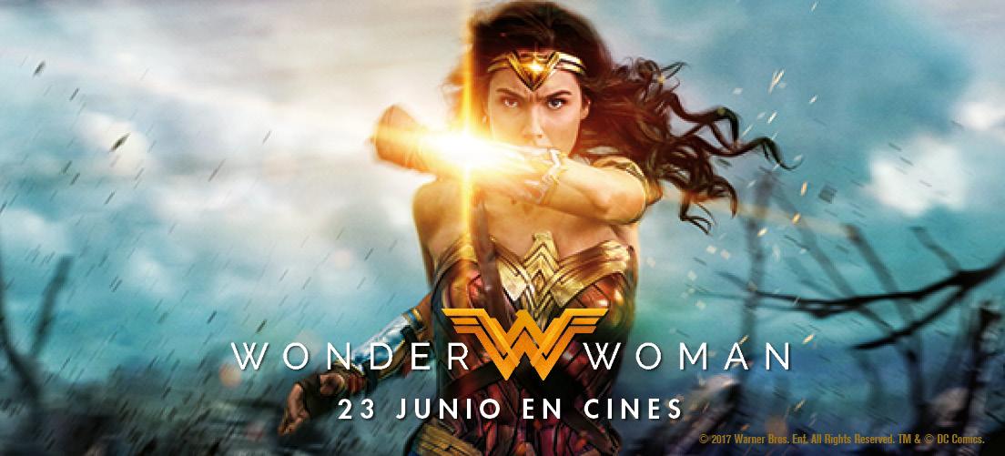 ¡Celebra con nosotros el estreno de Wonder Woman! ¡Te esperamos el día 24 de junio en FNAC Callao!