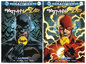 El camino hacia Batman/Flash: La chapa - Watchmen
