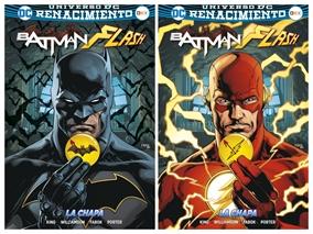 El camino hacia Batman/Flash: La chapa - Flash (Renacimento)