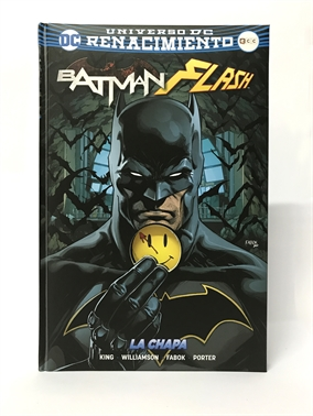 Batman Day 2017 - Un vistazo a Batman/Flash: La chapa - Edición limitada con chapa extraíble