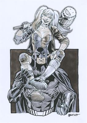 Batman Day 2017 - ¡Puedes ganar una commission de Jesús Merino!