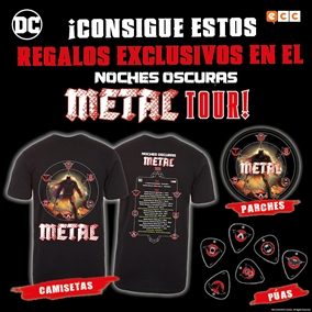 Noches oscuras: Metal Tour - Próximo concierto: ¡Salón del Cómic de San Sebastián!