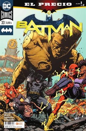 Batman/Flash: El precio - Un crossover paralelo a Héroes en Crisis