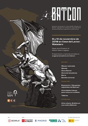ECC Ediciones en Batcon Madrid 2019