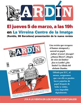 Revista Lardín - ¡Primer número a la venta en marzo!