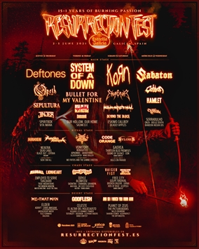 Noches oscuras: Death Metal - ECC y Resurrection Fest 2021