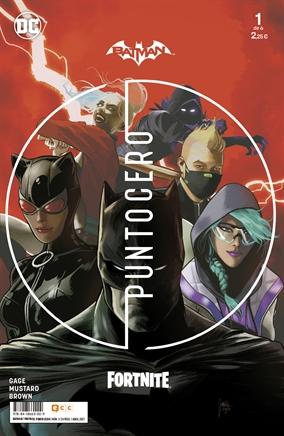 DC y Epic Games presentan Batman / Fortnite: Punto Cero