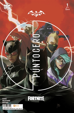 Comunicado Batman / Fortnite: Punto cero