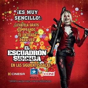 El Escuadrón Suicida: Hazte con la ficha de Harley Quinn en tu cine favorito