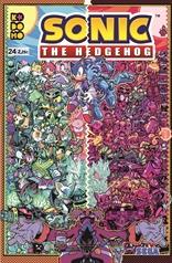 Sonic The Hedgehog núm. 24
