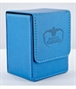 Flip Deck Case Leatherette 80+ Azul