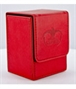 Flip Deck Case Leatherette 80+ Roja