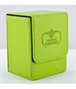Flip Deck Case Leatherette 80+ Verde
