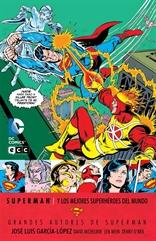 Grandes autores de Superman: José Luis García-López - Superman y los mejores Superhéroes del mundo