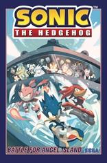 Sonic The Hedgehog: La batalla por Angel Island