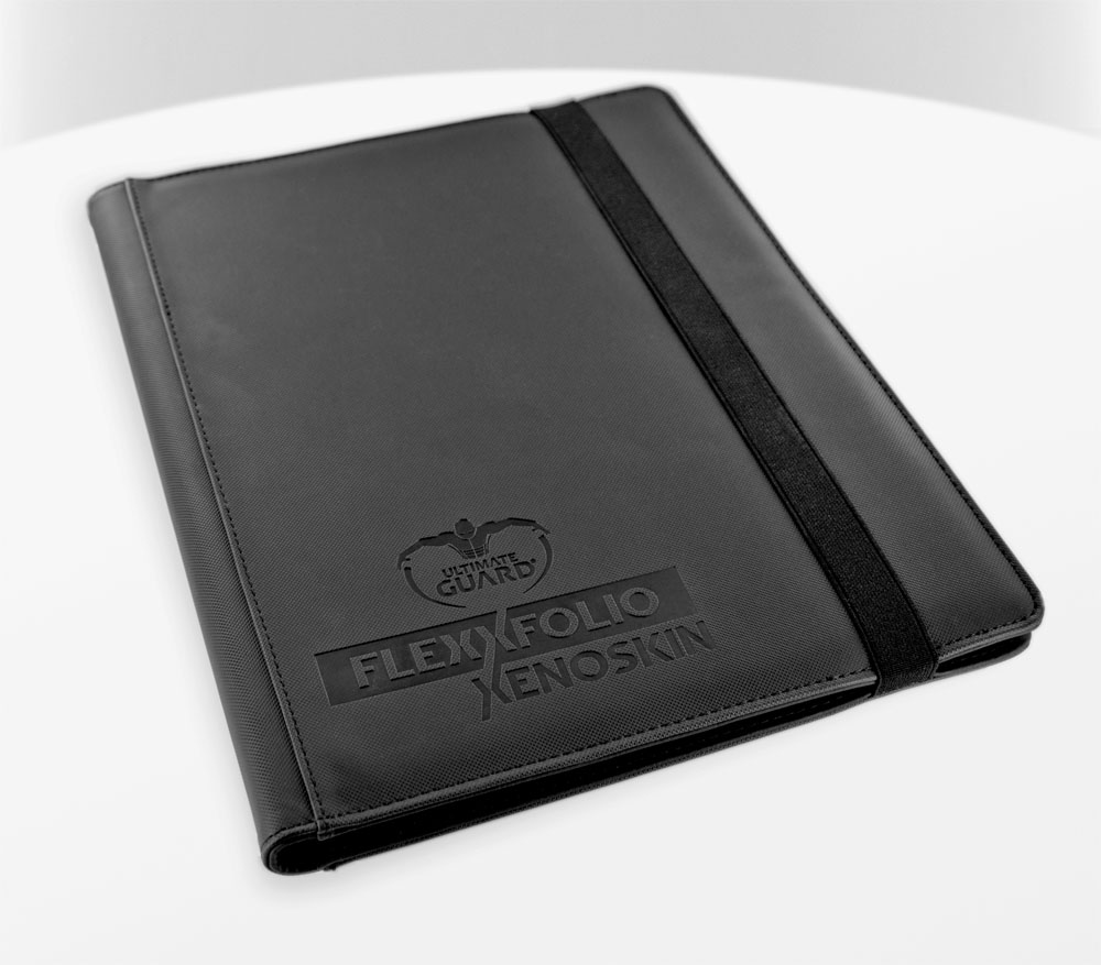 Book Cover Black Xs : Álbum pocket flexxfolio xenoskin negro ecc cómics