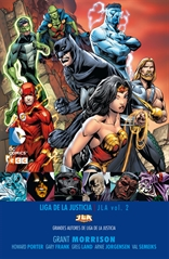 Grandes autores de la Liga de la Justicia: Grant Morrison - JLA núm. 02
