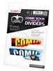 Separadores para cómics Premium Blanco (25 unidades)