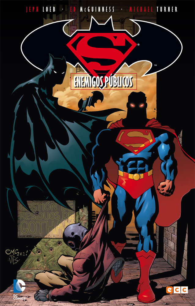 Superman/Batman vol. 01 de 6: Enemigos públicos - ECC Cómics