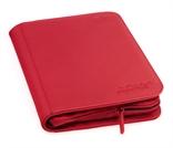Álbum 4 - Pocket Zipfolio Xenoskin Rojo