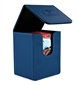 Flip Deck Case Leatherette 100+ Azul Marino