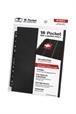 Hojas para archivador (10 unidades) 18-Pocket Side-Loading Negro