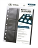 Hojas para archivador Compact Mini USA (10 unidades) Negro
