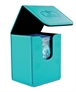 Flip Deck Case Leatherette 100+ Azul