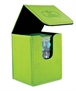 Flip Deck Case Leatherette 100+ Verde