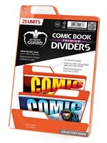 Separadores para cómics Premium Naranja (25 unidades)