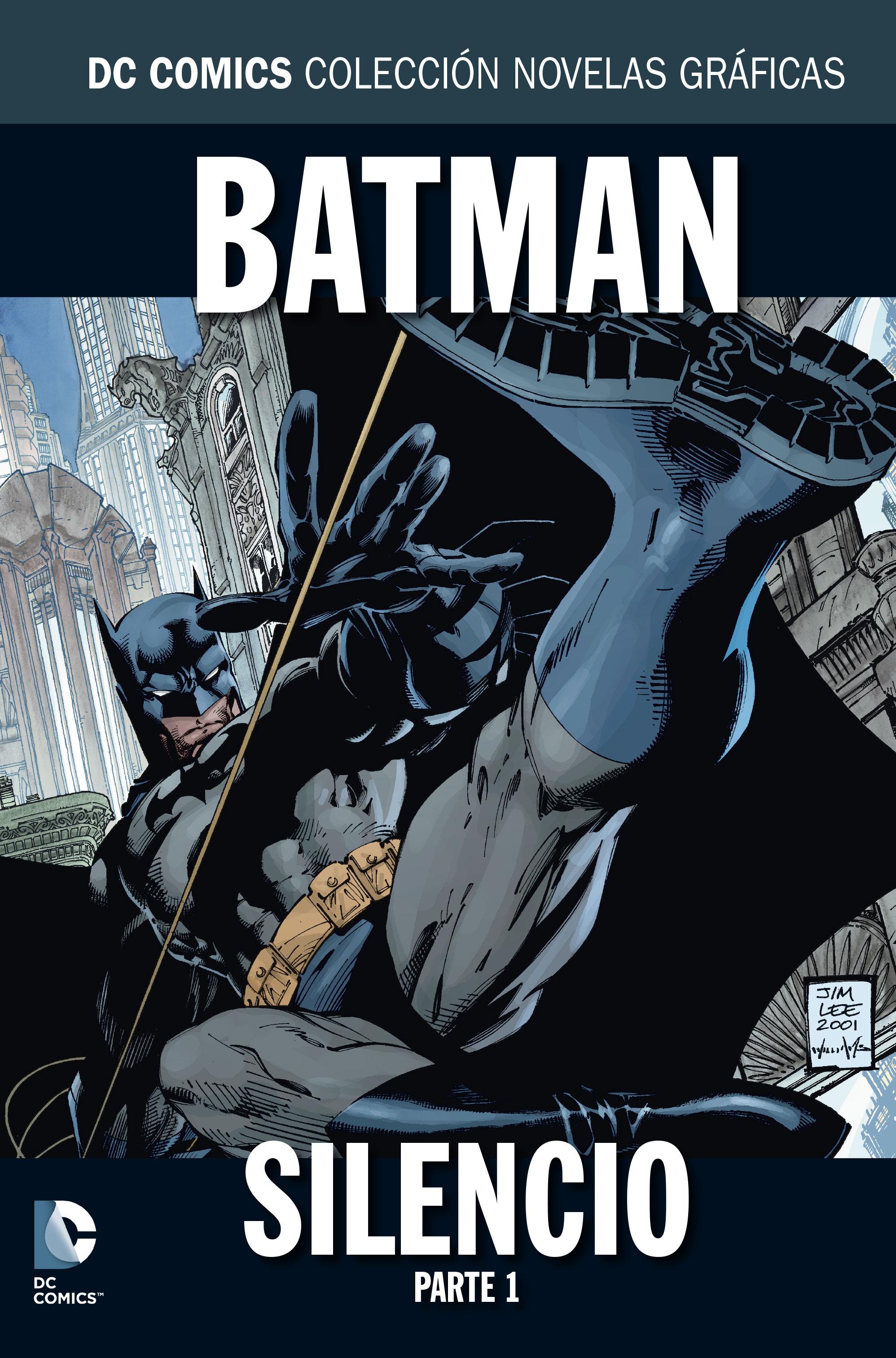 836 - [DC - Salvat] La Colección de Novelas Gráficas de DC Comics  BatmanSilencioParte1