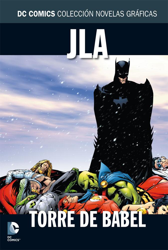 836 - [DC - Salvat] La Colección de Novelas Gráficas de DC Comics  JLA_Torre_de_Babel