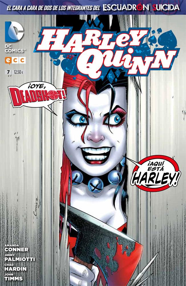Portada Harley Quinn n.º 7