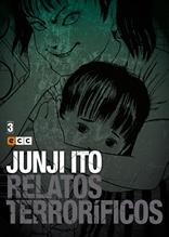Junji Ito: Relatos terroríficos núm. 03 de 18
