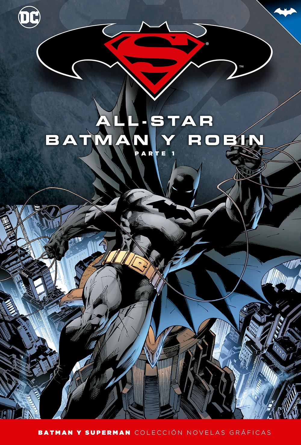 [DC - Salvat] Batman y Superman: Colección Novelas Gráficas Portada_BMSM_1_AllStarBatman1