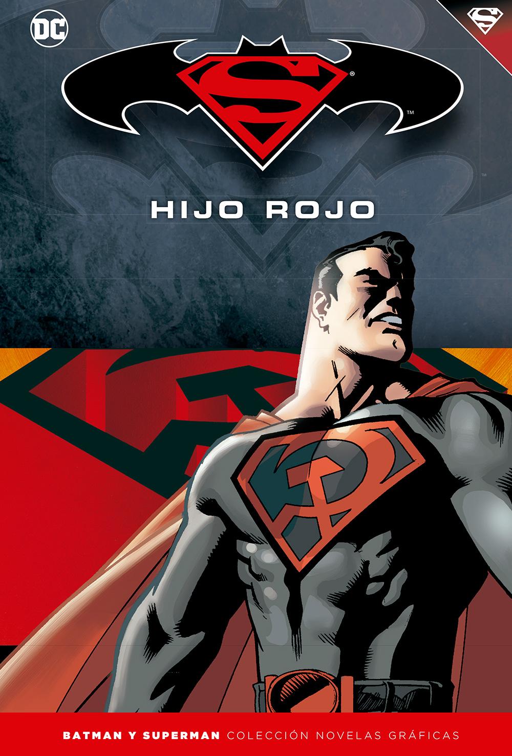 [DC - Salvat] Batman y Superman: Colección Novelas Gráficas - Página 2 Portada_BMSM_2_HijoRojo