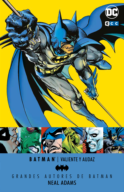 Grandes autores de Batman: Neal Adams - Valiente y audaz - ECC Cómics