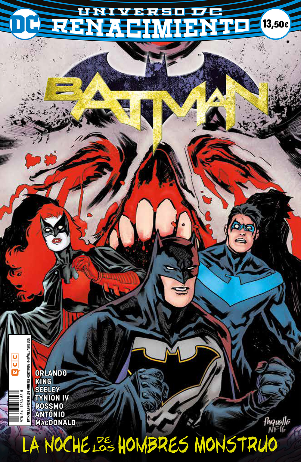 e9b63d76613 Batman: La noche de los Hombres Monstruo (Renacimiento) - ECC Cómics