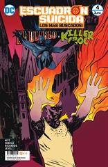 Escuadrón Suicida: El Diablo/Killer Croc — Los más buscados núm. 10/ 4