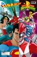 Liga de la Justicia/Power Rangers núm. 01 de 6