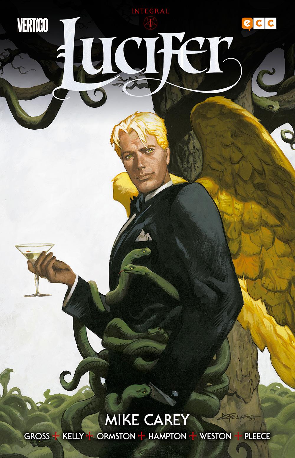 Lucifer: Integral vol. 01 de 3 - ECC Cómics
